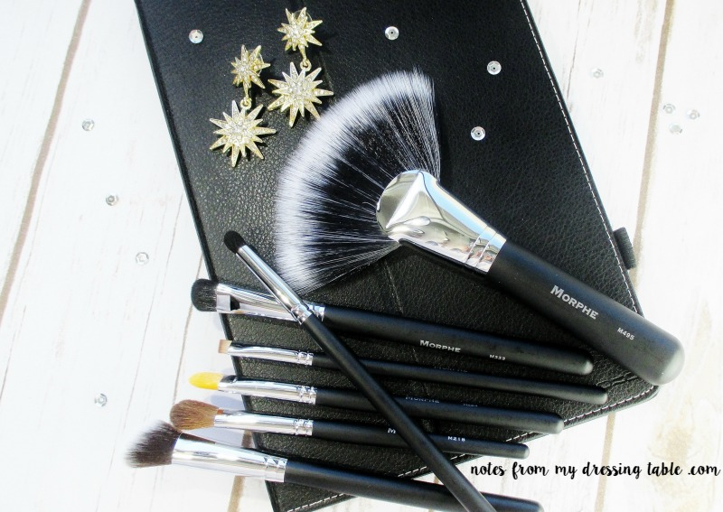 Morphe/Live Glam Makeup Brush Subscription - February - Review and overview - notesfrommydressingtable.com