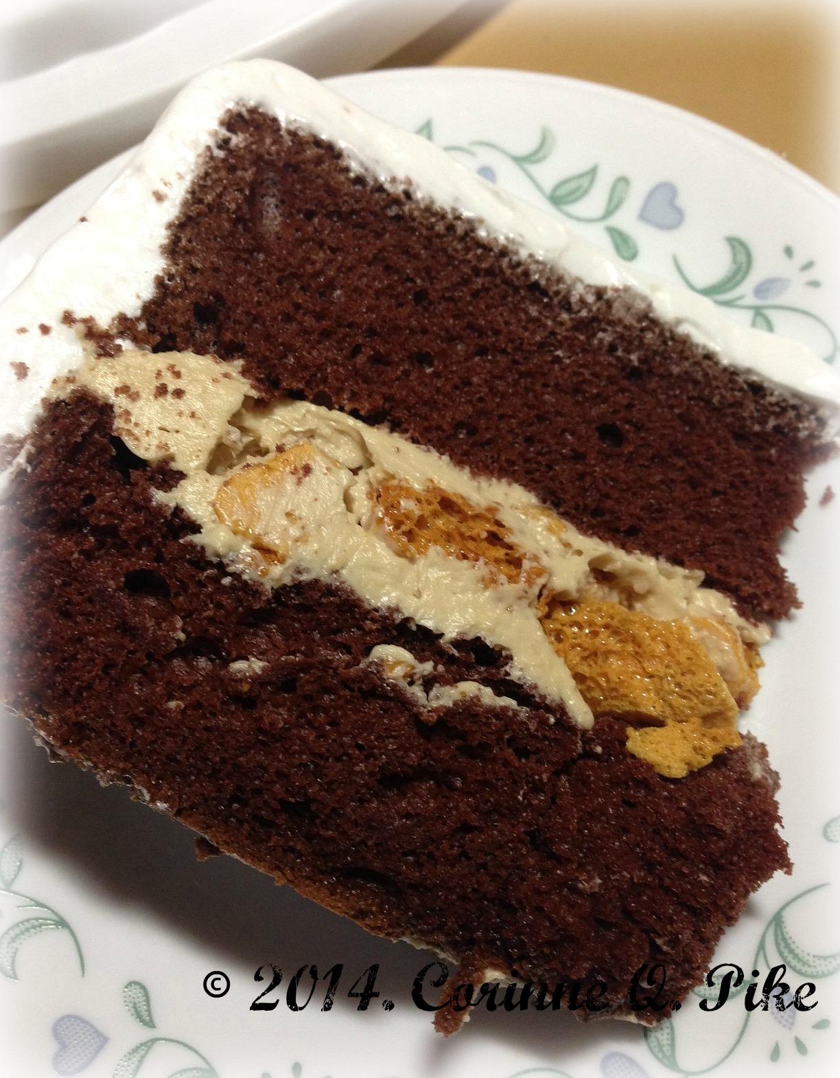 Easy Mocha Chiffon Cake Recipe