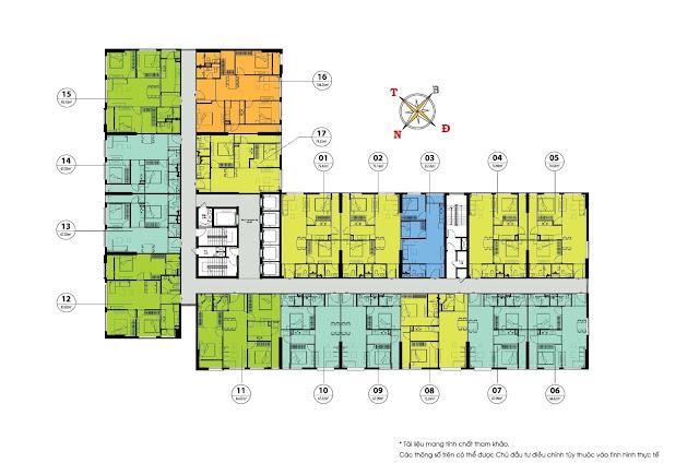 Mặt bằng dự án án chung cư Chelsea Residences , E2 Yên Hòa