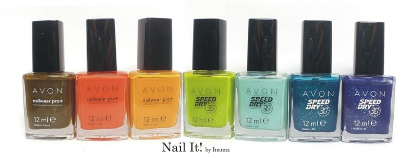 """Nowe lakiery Avon z serii ,,SpeedDry30"""" i ,,Nailwear Pro+"""""""