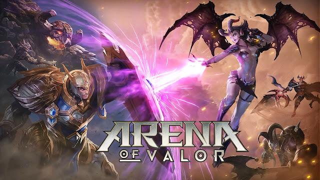 Kumpulan Gambar Dan Wallpaper HD Game AOV Arena of Valor (Mobile Arena) Terbaru 2019 #1 tomsheru