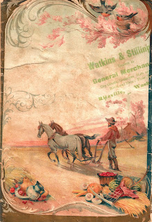 background seed catalog farm antique cover image