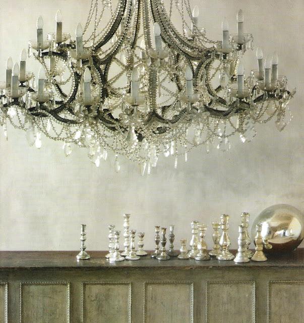 Côté Sud Dec 07-Jan08, magnificent chandelier, edited by lb for (l&l)