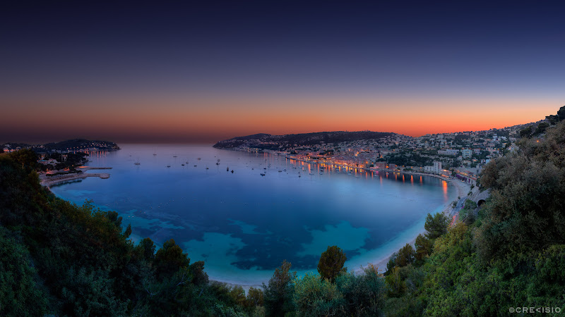 Villefranche sur Mer HDR Panorama HD