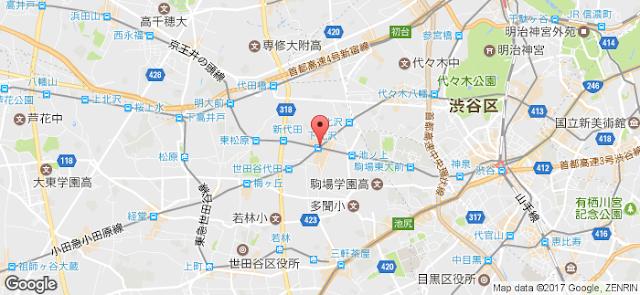 시모키타자와 위치