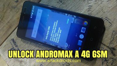 Cara Unlock 4g Tanpa Menghilangkan IMEI Andromax A