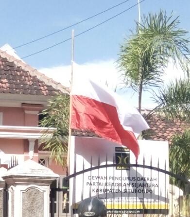 Pasang Bendera Merah Putih Terbalik, PKS Meminta Maaf