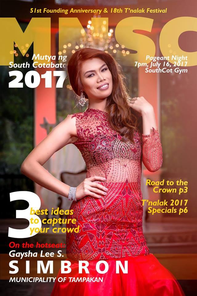 Mutya ng South Cotabato 2017 candidate
