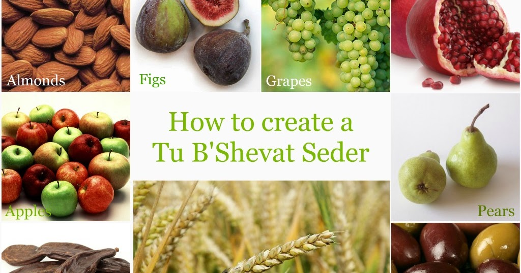 Design Megillah Tu B Shevat Seder Table