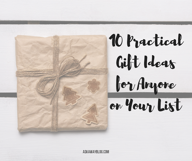 10 Practical Gift Ideas for Anyone on Your List