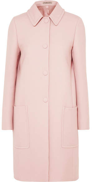 Bottega Veneta - Wool-blend Drill Coat - Pastel pink