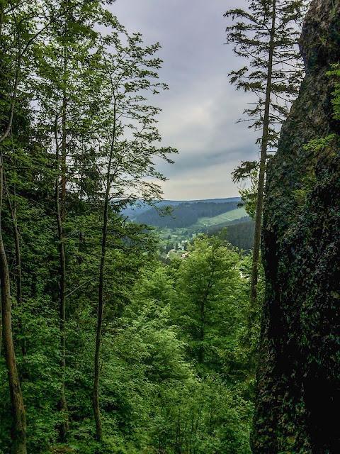 wandern am kickelhahn goethewanderung wanderbares deutschland