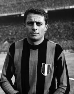 Aurelio Milano scored Inter's second goal in the 1964 European Cup final in Vienna