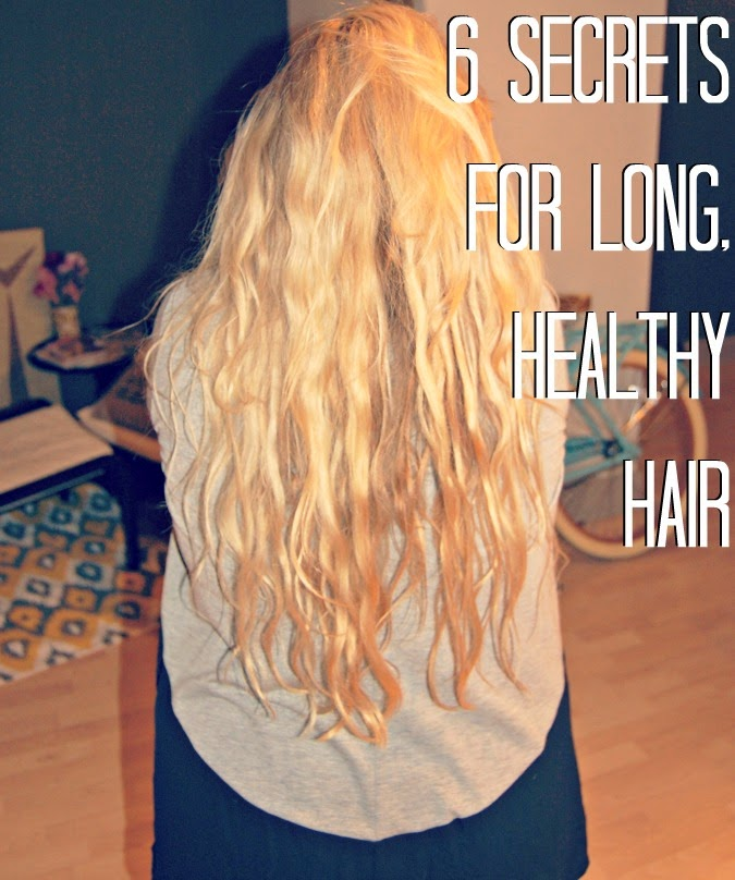 6 Secrets to Long, Healthy Hair