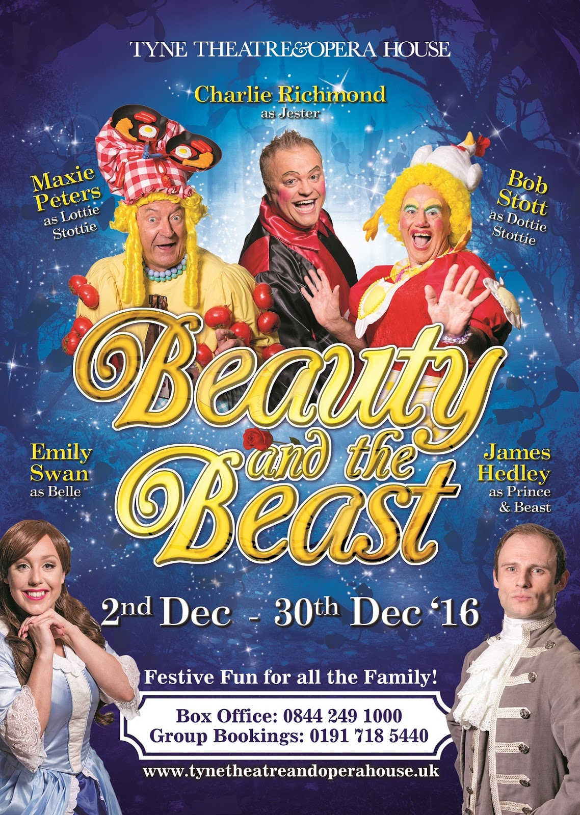 Beauty and the Beast at Tyne Theatre and Opera House Newcastle | A Review