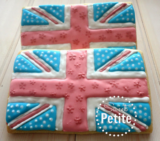 Inspired: Shabby Chic Union Jack Biscuits | Sweet Petite