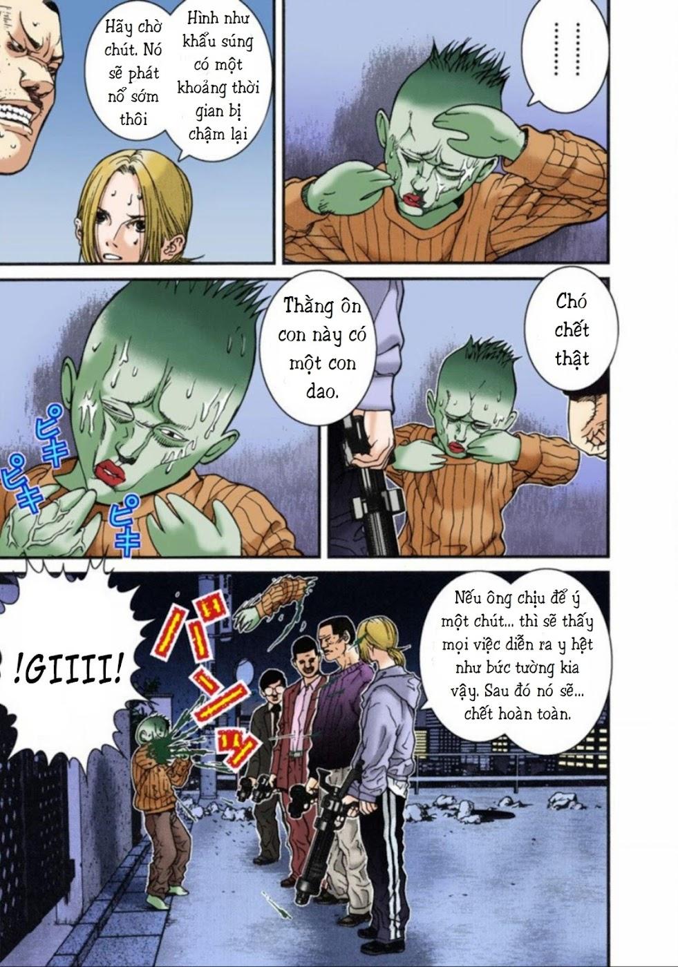 Gantz Chap 08: Tàn sát trang 3