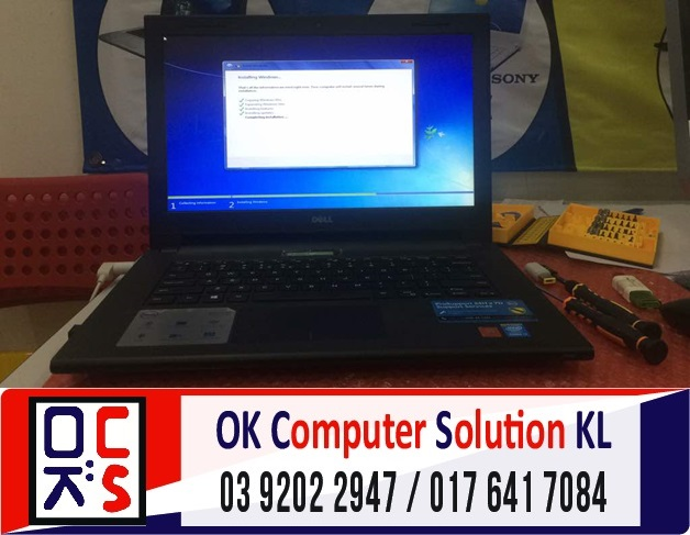[SOLVED] DELL INSPIRON 14 TAK BOLEH ON | REPAIR LAPTOP CHERAS 8
