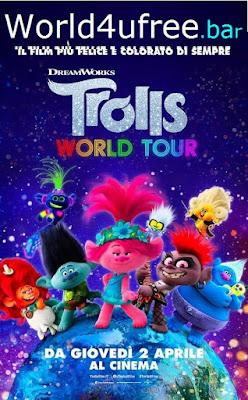 Trolls World Tour 2020 Eng BRRip 480p 300Mb ESub x264