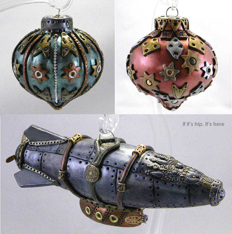 Victorian Steampunk Christmas 2020 Photos Steampunk Christmas Ornaments Are One Of A Kind Handmade Art For