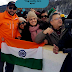 WATCH : Shahid Afridi Asks his Indian Fan To Hold Indian Flag Straight.