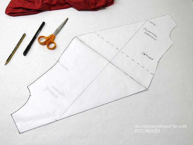 como hacer una blusa con efecto twist