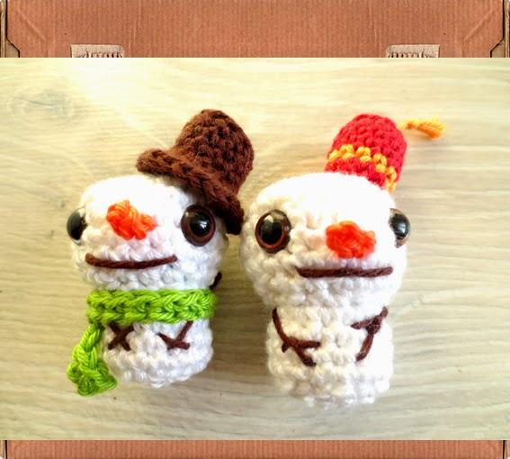 Marijn Van Der Sman Workshop Sneeuwpop Amigurumi