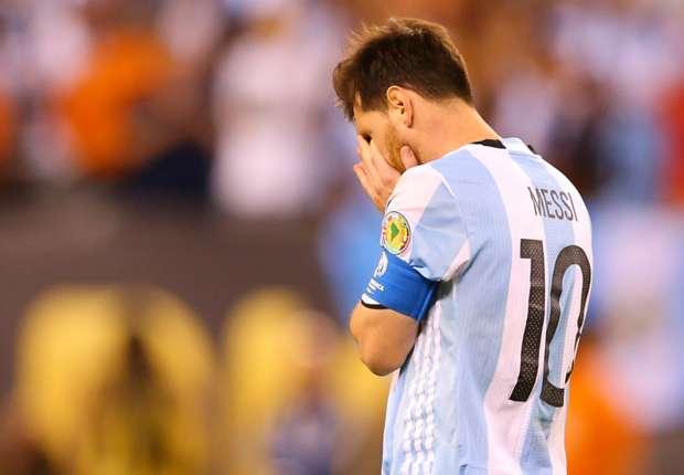 Lionel Messi n'a pu retenir ses larmes dimanches à l'issue de la défaite