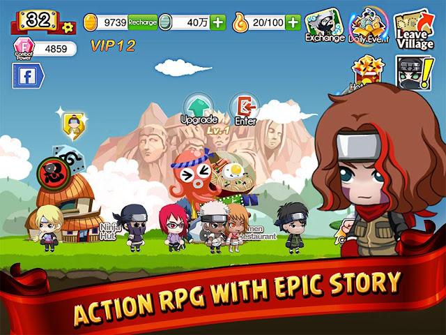 ninja-heroes-AppMarsh Ninja Heroes MOD APK – Mega Unlimited Android Full Apps