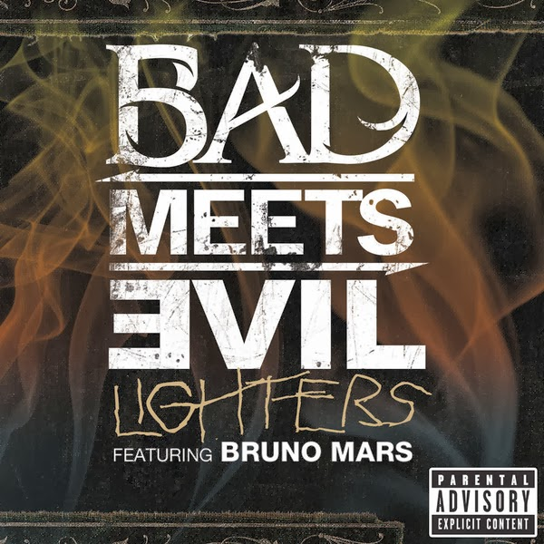 Bad Meets Evil - Lighters (feat. Bruno Mars) - Single Cover