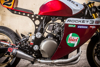Triumph Legend TT 900 Escape Cafe Racer