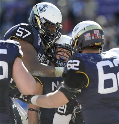 NCAAF : Navy Looks for Redemption at Armed Forces Bowl