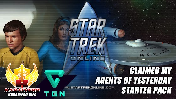 Let's Play Star Trek Online [E12] ★ Claimed My Agents Of Yesterday Starter Pack