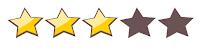 Resultado de imagen de 3/5 estrellas