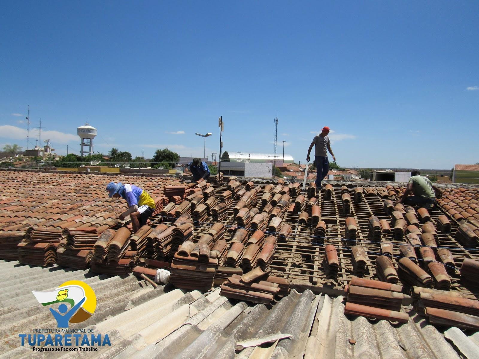 Mais Tuparetama: Prefeitura inicia reforma do prédio sede e da Praça  #346397 1600 1200