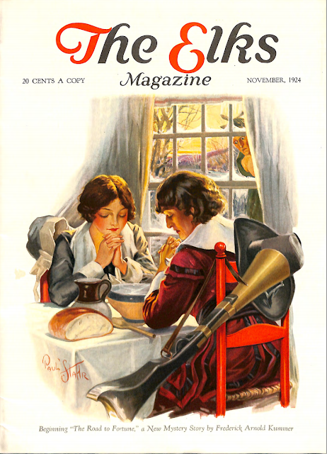 Cover by Paul Stahr for The Elks magazine 1924 November