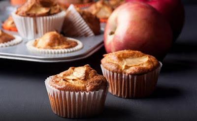 Receta de Muffins de Manzanas y Canela