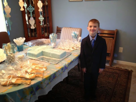 Finn's First Communion Party