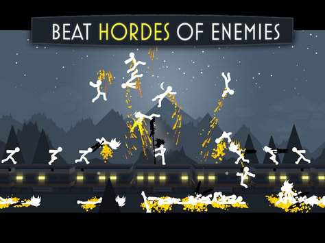 stick fight shadow warrior game for android