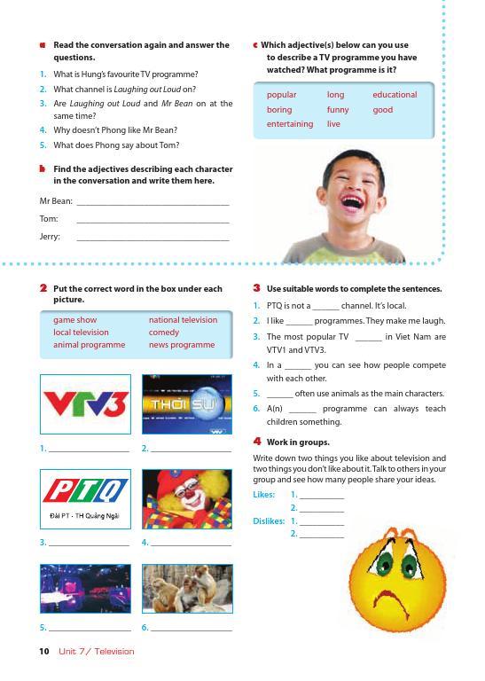 Trang 10 sach Sách Giáo Viên Tiếng Anh 6 Tập 2