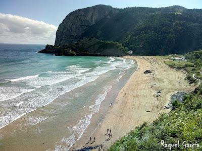 Playa de Laga. Ibarrangelu (Bizkaia)