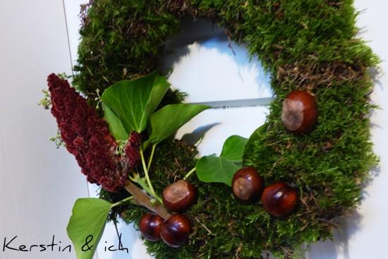 Herbstkranz Selbermachen