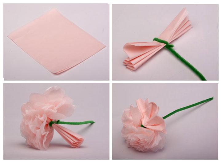 Taller de Artes Plsticas y Diseo como hacer flores de papel