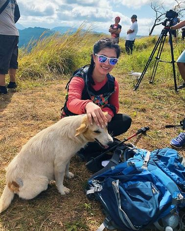 Angel Locsin's Fresh Look At The Peak Of Mt. Batolusong