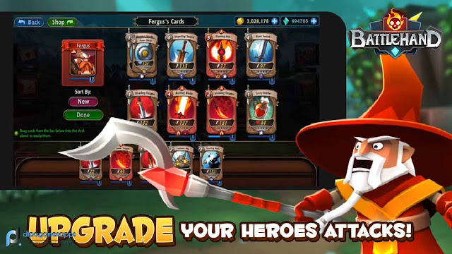 Download BattleHand Mod Apk Unlimited Money and High XP