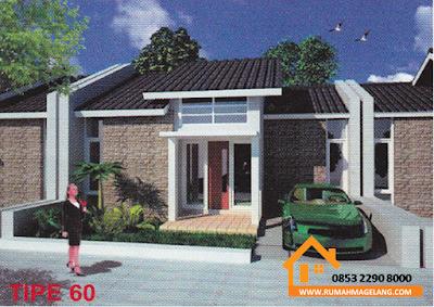 jual rumah di magelang murah type 60 harga kurang dari 400.000