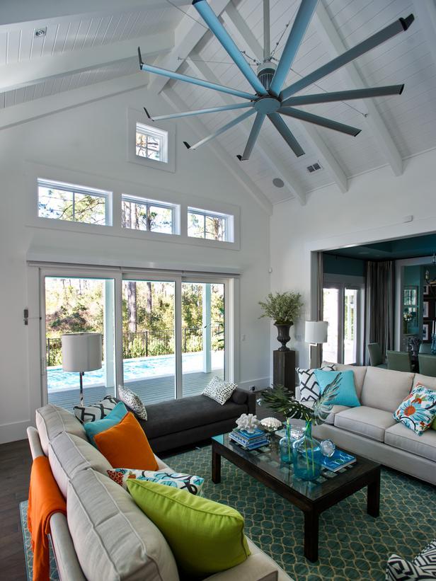 Modern Furniture: 2013 HGTV Smart Home : Living Room Pictures