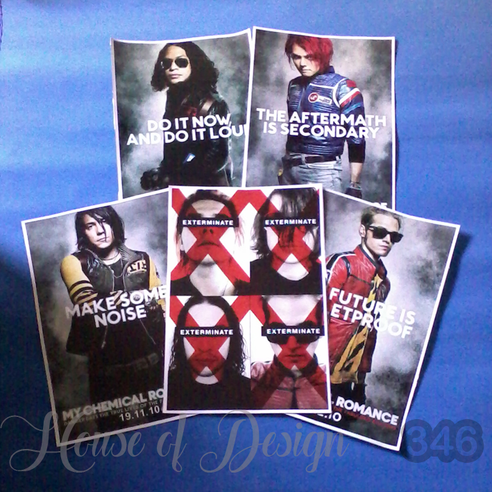 POSTER, POSTER CUSTOM, POSTER A3, POSTER A4, POSTER A5, POSTER CUSTOM SIZE, POSTER BAND, POSTER SINGER, POSTER MY CHEMICAL ROMANCE, POSTER EXTERMINATE, POSTER DO IT NOW AND DO IT LOUD, POSTER THE AFTERMATH IS SECONDARY, POSTER MAKE SOME NOISE, POSTER MUSICAL, POSTER KONSER