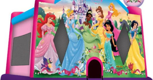 DISNEY PRINCESS II JUMP HOUSE ( NEW EDITION )