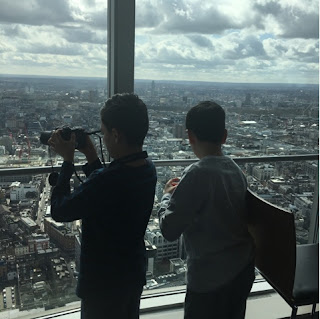 Taking pictures of London
